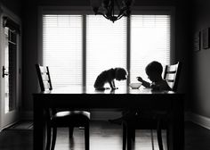 The Breakfast Club By Karen Osdieck, USA (1st Place In The Silhouette Category, First Half)