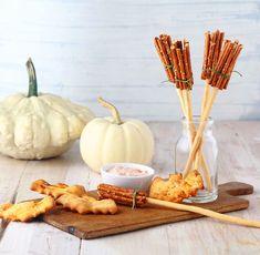 Creative Halloween Appetizer: Spooky Bat Biscuits & Pretzel Broomsticks