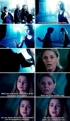 "Emma Swan and Oracle - 6 * 1 ""The Saviour"""