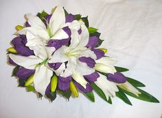 Tulip purpl bouquet, bridal bouquets, purpl tulip
