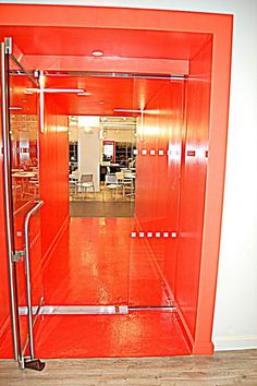 Halls into the lounge