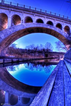 #Manayunk Canal. Photo by Todd Landry photography. #beautiful #bridge