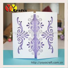Wholesale - 100Sets Laser Cut Wedding invitations Cards+100 Cards+100 Envelopes+100 Seals US $62.00
