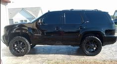 Blacked out Z71 Tahoe