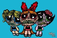 Zombie Powerpuff Girls