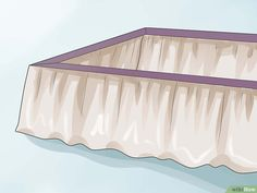 f5671a8963c25 Image titled Make a Bed Skirt Step 8 How To Dress A Bed