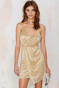 Nasty Gal Luxe Be a Lady Lamé Dress | Shop Clothes at Nasty Gal!