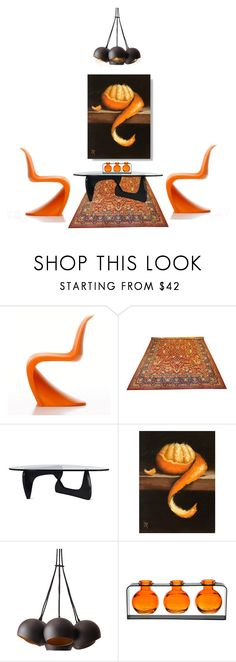 """""""Oh My Darling Clementine"""" by lovetodrinktea ❤ liked on Polyvore featuring interior, interiors, interior design, home, home decor, interior decorating and Design Within Reach"""