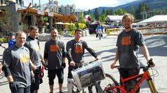 """Our """"Sleep Naked"""" shirts were a huge success at Crankworx! With bedgear products, you'll experience the perfect temperature at night with our sleep performance technology!"""