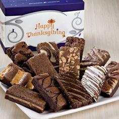 Thanksgiving Brownies