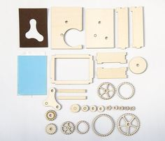 Laser Cut Display Gears : 16 Steps (with Pictures) - Instructables School Projects, Projects To Try, Laser Cutter Engraver, Laser Cut Paper, Gear Wheels, Laser Cutter Projects, Project Free, Silhouette Portrait, Colored Paper
