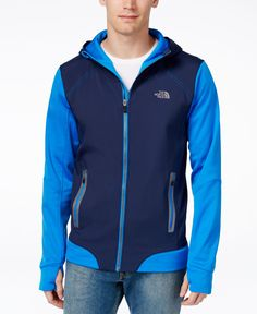 cad89ddaf40b The North Face Men s Kilowatt Colorblocked Hooded Jacket Face Men