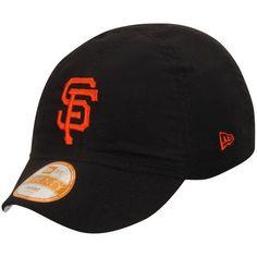 da4cd0bd936 Infant San Francisco Giants New Era Black Top Flip Reversible 9TWENTY  Stretch Fit Hat