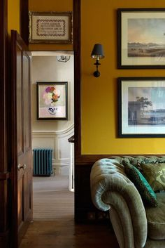 Study Sofa - English Garden Square House