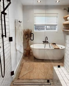 Hippie Home Decor modern boho bathroom Bad Inspiration, Bathroom Inspiration, Home Decor Inspiration, Bathroom Ideas, Bathroom Small, Basement Bathroom, Master Bathroom, Shower Ideas, Remodled Bathrooms