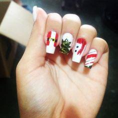 Navidad#en#mis#uñas http://decoraciondeunas.com.mx #moda, #fashion, #nails, #like, #uñas, #trend, #style, #nice, #chic, #girls, #nailart, #inspiration, #art, #pretty, #cute, uñas decoradas, estilos de uñas, uñas de gel, uñas postizas, #gelish, #barniz, esmalte para uñas, modelos de uñas, uñas decoradas, decoracion de uñas, uñas pintadas, barniz para uñas, manicure, #glitter, gel nails, fashion nails, beautiful nails, #stylish, nail styles