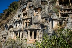 fethiye tombs turkey, lycian tombs, things to do in fethiye (2)