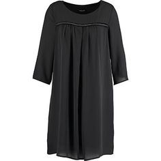 Essenza Di Moda Black Shift Dress