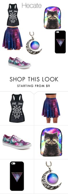 """""""Percy Jackson: Hecate"""" by peytondodson on Polyvore featuring Vans, TigerBear Republik and Casetify"""
