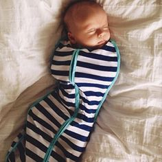The Woombie is the safest, most natural way to swaddle your baby.  Charlotte has it and it is amazing!