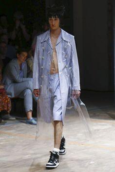 Comme des Garcons Homme Plus Menswear Spring Summer 2017 Paris