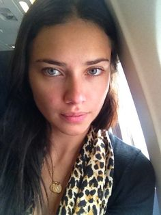 Adrianna Lima. Such a natural beauty. Everyone secretly wants to date her.