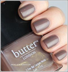 Currently on my nails...Butter London's Fash Pack