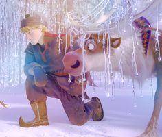 disney frozen kristoff   Disney Frozen Kristoff and Sven