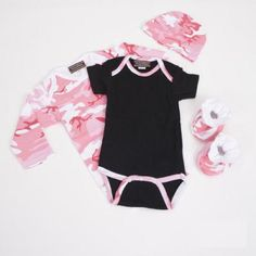 a5fd52cf725c9 Baby Milano Baby Clothes Gift Set in Pink Camouflage Camo Baby Clothes, Baby  Clothes Online