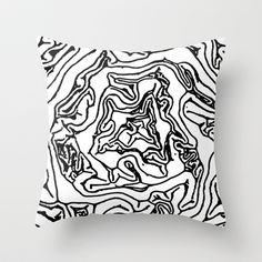 layers Throw Pillow by lamoppe - $20.00