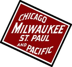 Paul and Pacific Railroad (Milwaukee Road). Formaly called Chicago, Milwaukee and St. The eastern half of the company was acquired and merged into the Soo Railroad in The western half acquired by the UP & BNSF.