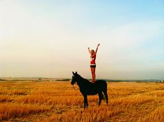 standing on a horse + editorial - Google Search