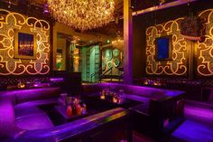 Los Angeles:  AV Nightclub located in the historic Marion building with room for 320. A DJ booth is the centerpiece of the space, surrounded by Baroque-era-inspired embellishments. Enjoy a patio with ivy-covered walls and an outdoor fireplace.