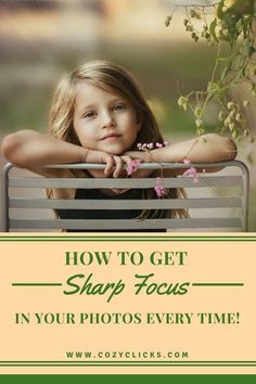 Easy ways to get super sharp focus in your photos every time your click. Read more here! Easy ways to get super sharp focus in your photos every time your click. Read more here! Shutter Speed Photography, Dslr Photography Tips, Photography Cheat Sheets, Photography Tips For Beginners, Photography Lessons, Photoshop Photography, Outdoor Photography, Photography Business, Photography Tutorials