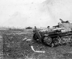 "Imperial Japanese Army Medium Tank Type 97 ""Chi-ha""  Destroyed Type 97 Chi Ha tank from 9th Tank Regiment Saipan June 16 1944.   九七式中戦車 チハ"