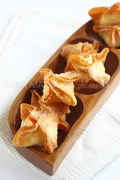 Crab Rangoon | Crab Rangoon Recipe | Easy Asian Recipes at RasaMalaysia.com