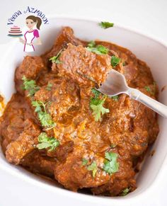 This slow cooked Indian beef curry almost melts in the mouth. Weather you cook on the stove top for two hours or in a slow cooker for 4 hours you will be