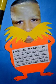 Lorax Craftivity...i love this movie!