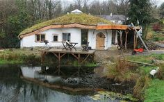 "Glandwr, Wales   This ""hobbit home"" was in south-west Wales was built by a young couple Charlie    Hague and Megan Williams, who wanted a home for their baby son. They built    the eco-friendly house on land owned by Mr Hague's father in Glandwr,    Pembrokeshire for only £15,000."