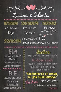 Chalkboard a partir de R$45,00! em http://www.elo7.com.br/sereiarte  Casamento, chá de bebê, namorados, noivado, infantil decoração e muito mais!