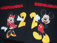 Minie e Mickey.