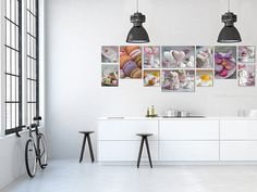 Gallery wall Food photography in Large Canvas art by PHOTOFORWALL