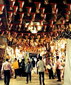 At the market in the capital Muscat, shoppers walk under a sea of pennants featuring the likeness of Sultan Qaboos. Most Oman citizens have known no other leader and it's not clear who would succeed Qaboos.