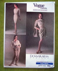 1980s vogue 1962 - Donna Karan Skirts & Pants