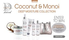 You could win you very own, new Design Essential Coconut & Monoi