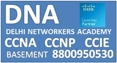 Delhi Networkers Academy is a leading training institute provides #CCNA(R&S), #CCNP(R&S), #CCIE(R&S), SEO training, Microsoft, ITIL, Juniper, Linux, Comptia etc.Contact us- http://www.delhinetworkers.com/