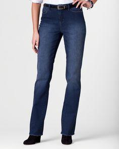 Denim bootcut jeans
