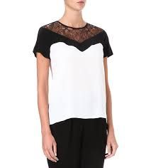 sandro lace top - Google Search