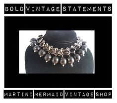 Bold Vintage Statements.... by martinimermaid on Polyvore featuring vintage