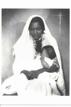 faithloveelaine:  James Latimer Allen Brown Madonna and Child, ca. 1930's  ?Schomburg Center for Research in Black Culture?